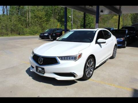 2018 Acura TLX for sale at Inline Auto Sales in Fuquay Varina NC