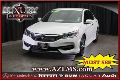 2016 Honda Accord for sale at Luxury Motorsports in Phoenix AZ