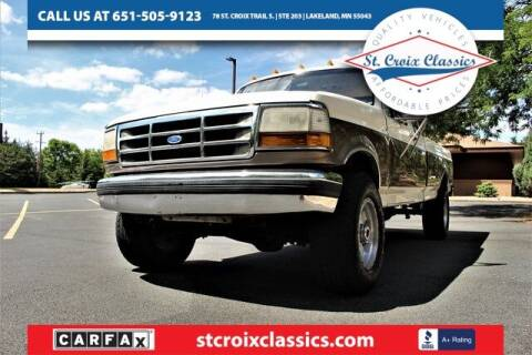 1992 Ford F-250 for sale at St. Croix Classics in Lakeland MN