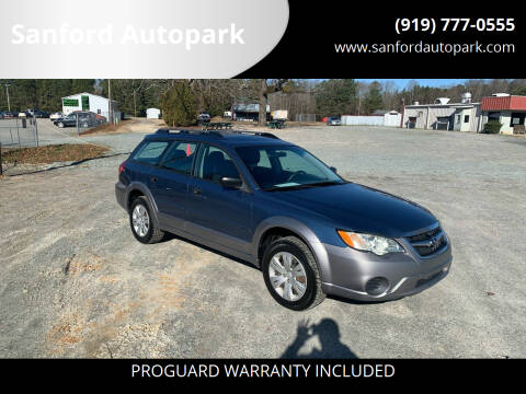 2008 Subaru Outback for sale at Sanford Autopark in Sanford NC