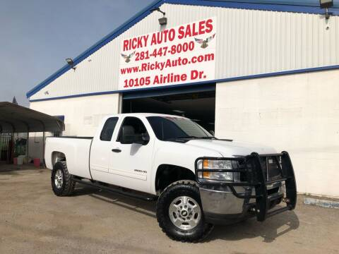 2012 Chevrolet Silverado 2500HD for sale at Ricky Auto Sales in Houston TX