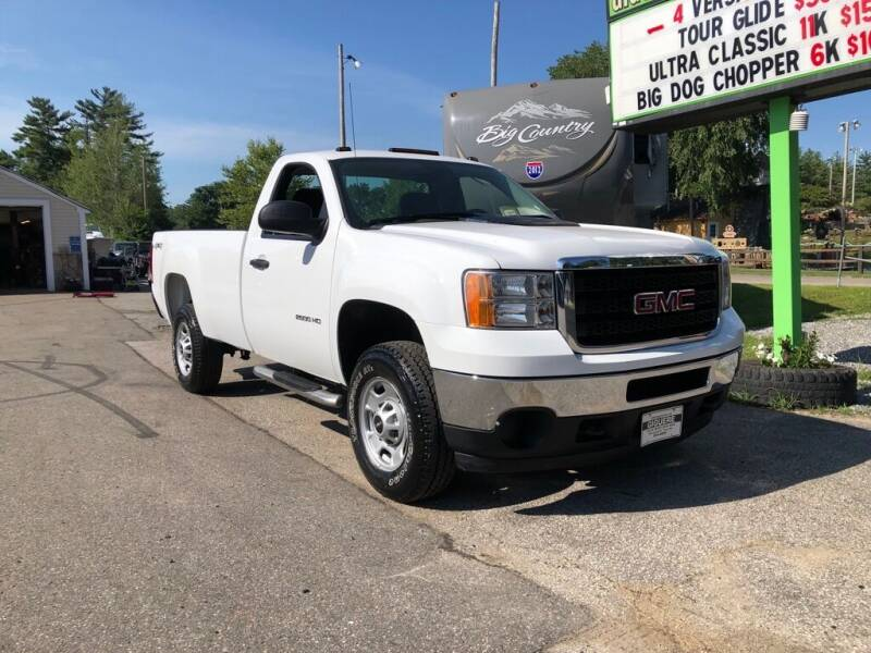2013 GMC Sierra 2500HD for sale at Giguere Auto Wholesalers in Tilton NH