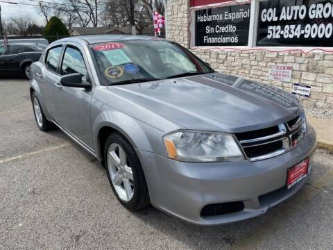 2013 Dodge Avenger for sale at GOL Auto Group in Austin TX