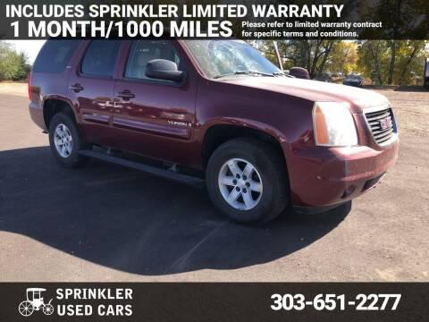 2008 GMC Yukon for sale at Sprinkler Used Cars in Longmont CO