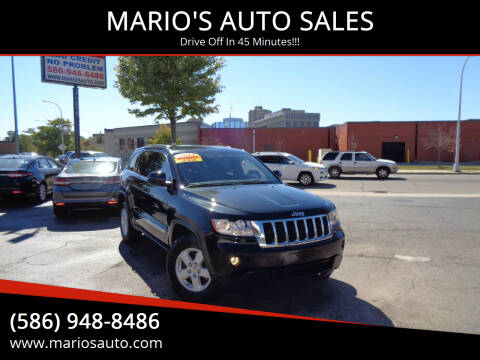 2013 Jeep Grand Cherokee for sale at MARIO'S AUTO SALES in Mount Clemens MI