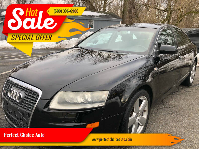 2008 Audi A6 for sale at Perfect Choice Auto in Trenton NJ
