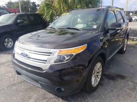 2013 Ford Explorer for sale at Castle Used Cars in Jacksonville FL