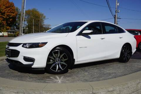 2018 Chevrolet Malibu for sale at Platinum Motors LLC in Heath OH