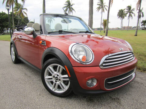 2012 MINI Cooper Convertible for sale at FLORIDACARSTOGO in West Palm Beach FL