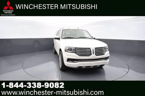 2015 Lincoln Navigator L for sale at Winchester Mitsubishi in Winchester VA