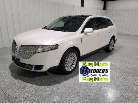 2012 Lincoln MKT for sale at Hatcher's Auto Sales, LLC - Buy Here Pay Here in Campbellsville KY