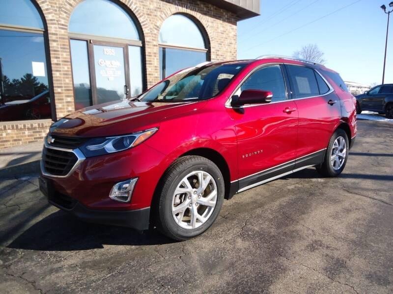 2018 Chevrolet Equinox for sale at VON GLAHN AUTO SALES in Platteville WI