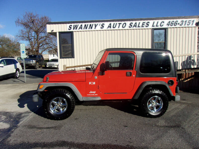2005 Jeep Wrangler for sale at Swanny's Auto Sales in Newton NC