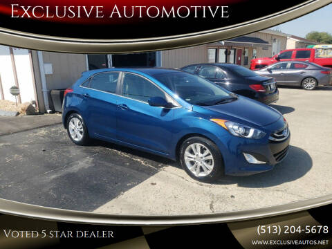 2015 Hyundai Elantra GT for sale at Exclusive Automotive in West Chester OH