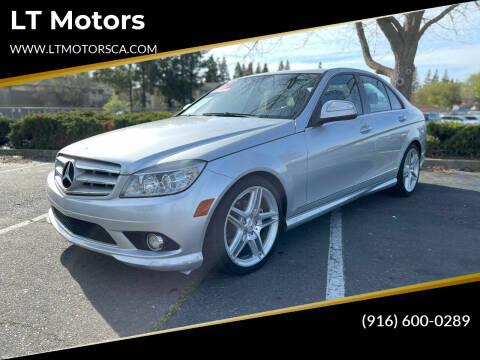 2009 Mercedes-Benz C-Class for sale at LT Motors in Rancho Cordova CA