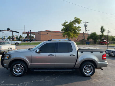 2008 Ford Explorer Sport Trac for sale at MADISON MOTORS in Bethany OK
