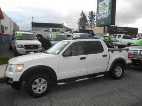 2007 Ford Explorer Sport Trac for sale at Rocket Car sales in Covina CA