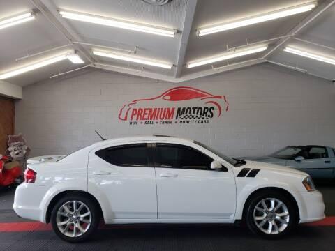 2014 Dodge Avenger for sale at Premium Motors in Villa Park IL
