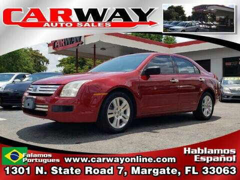 2007 Ford Fusion for sale at CARWAY Auto Sales in Margate FL