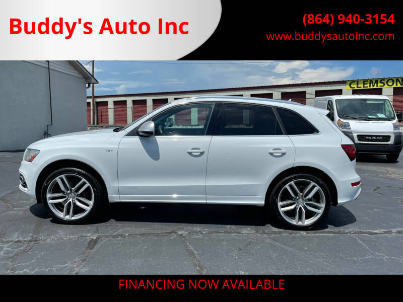 2014 Audi SQ5 for sale at Buddy's Auto Inc in Pendleton, SC