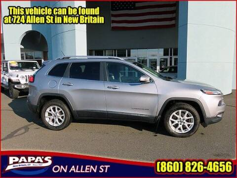 2014 Jeep Cherokee for sale at Papas Chrysler Dodge Jeep Ram in New Britain CT