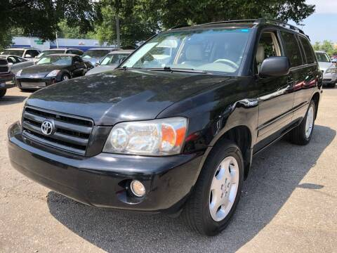 2005 Toyota Highlander for sale at Atlantic Auto Sales in Garner NC