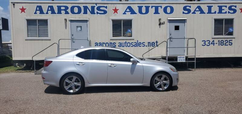 2012 Lexus IS 250 for sale at Aaron's Auto Sales in Corpus Christi TX