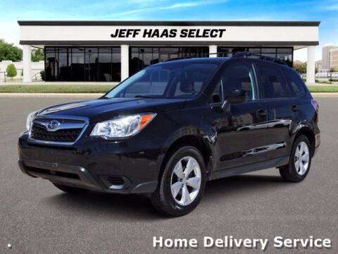 2016 Subaru Forester for sale at JEFF HAAS MAZDA in Houston TX