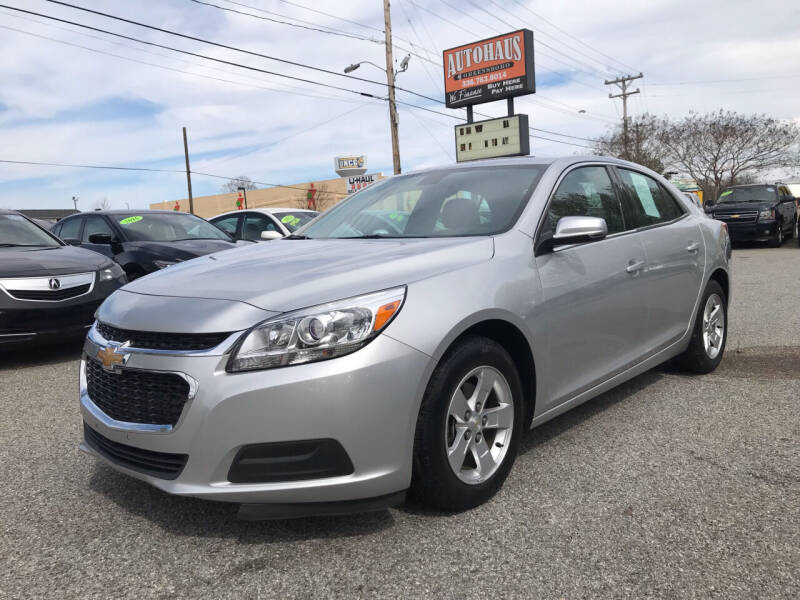 2016 Chevrolet Malibu Limited for sale at Autohaus of Greensboro in Greensboro NC