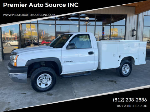 2004 Chevrolet Silverado 2500HD for sale at Premier Auto Source INC in Terre Haute IN
