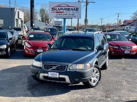 2007 Volvo XC70 for sale at Supreme Auto Sales in Chesapeake VA