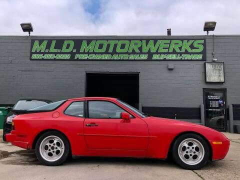1986 Porsche 944 for sale at MLD Motorwerks Pre-Owned Auto Sales - MLD Motorwerks, LLC in Eastpointe MI