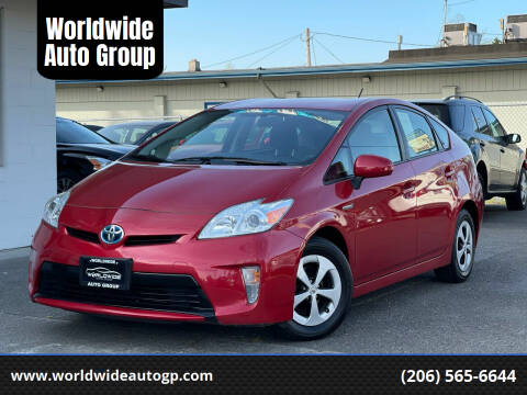 2012 Toyota Prius for sale at Worldwide Auto Group in Auburn WA