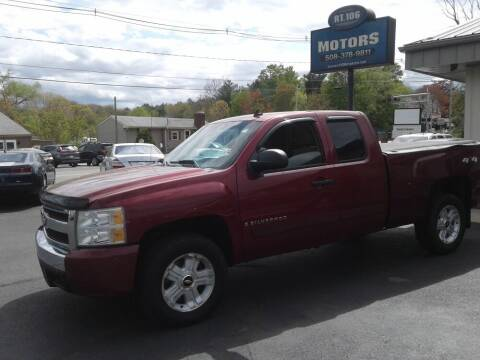 2007 Chevrolet Silverado 1500 for sale at Route 106 Motors in East Bridgewater MA