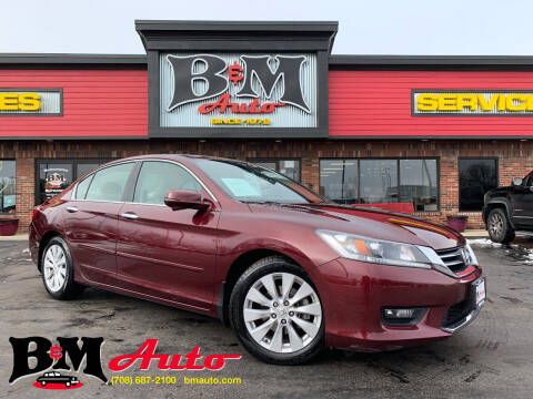2014 Honda Accord for sale at B & M Auto Sales Inc. in Oak Forest IL