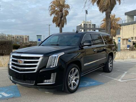 2016 Cadillac Escalade ESV for sale at Motorcars Group Management - Bud Johnson Motor Co in San Antonio TX