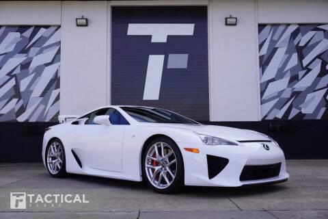 2012 Lexus LFA for sale at Tactical Fleet in Addison TX