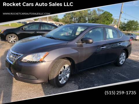 2014 Nissan Sentra for sale at Rocket Cars Auto Sales LLC in Des Moines IA