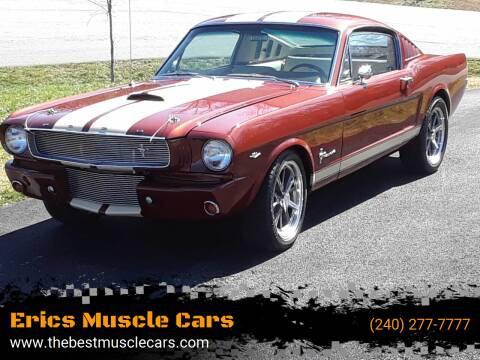 1966 Ford Mustang for sale at Erics Muscle Cars in Clarksburg MD