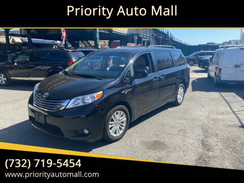 2017 Toyota Sienna for sale at Mr. Minivans Auto Sales - Priority Auto Mall in Lakewood NJ