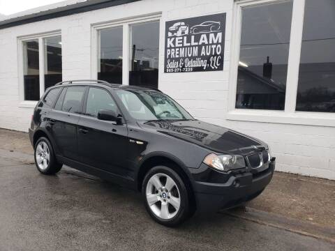 2004 BMW X3 for sale at Kellam Premium Auto Sales & Detailing LLC in Loudon TN