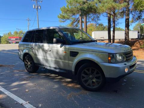 2008 Land Rover Range Rover Sport for sale at THE AUTO FINDERS in Durham NC