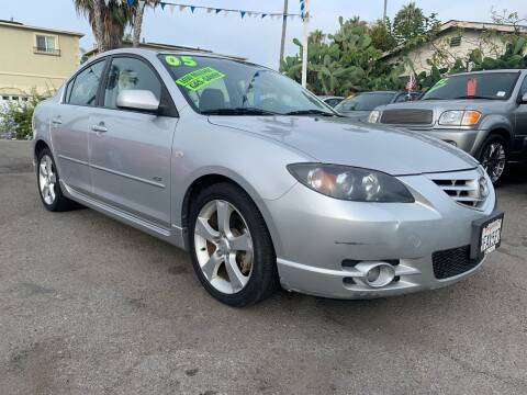 2005 Mazda MAZDA3 for sale at North County Auto in Oceanside CA