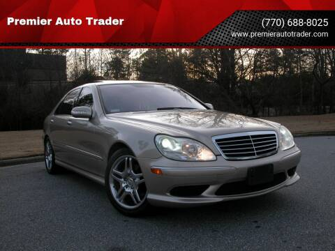 2006 Mercedes-Benz S-Class for sale at Premier Auto Trader in Alpharetta GA