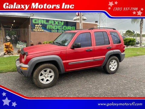 2004 Jeep Liberty for sale at Galaxy Motors Inc in Melbourne FL