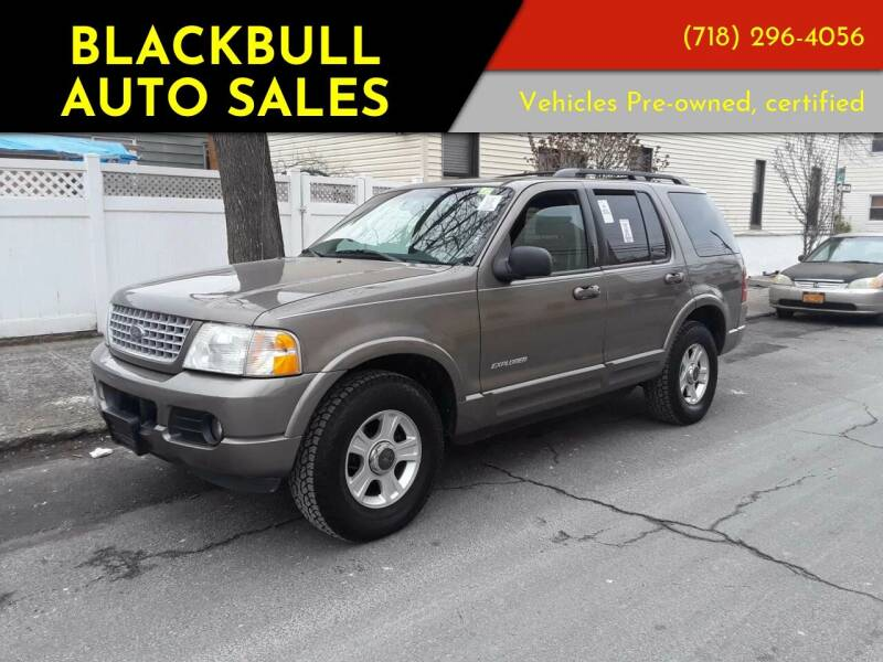 2002 Ford Explorer for sale at Blackbull Auto Sales in Ozone Park NY