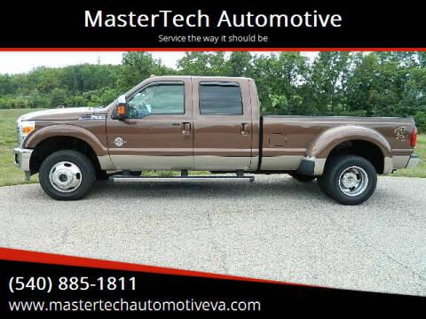 2012 Ford F-350 Super Duty for sale at MasterTech Automotive in Staunton VA