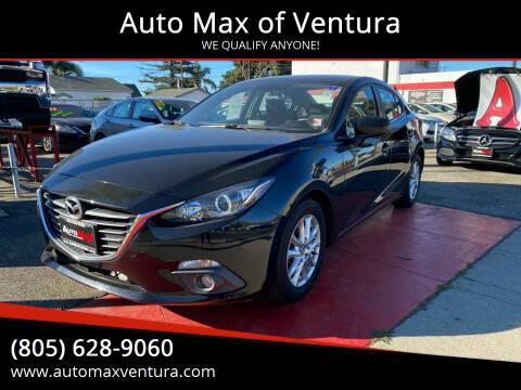 2015 Mazda MAZDA3 for sale at Auto Max of Ventura in Ventura CA