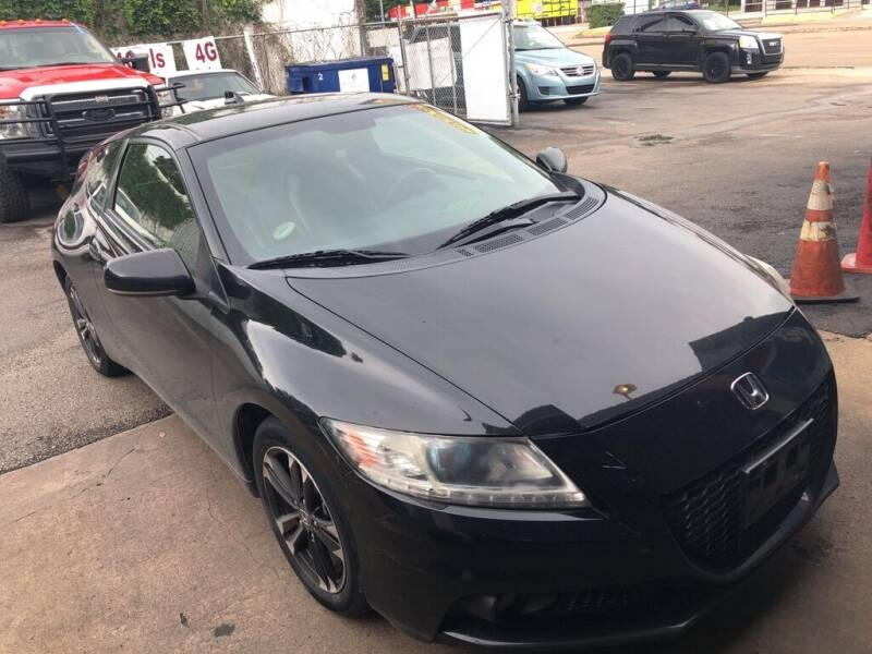 2015 Honda CR-Z for sale at 4 Girls Auto Sales in Houston TX