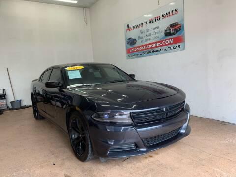 2017 Dodge Charger for sale at Antonio's Auto Sales - Antonio`s  3001 in Pasadena TX